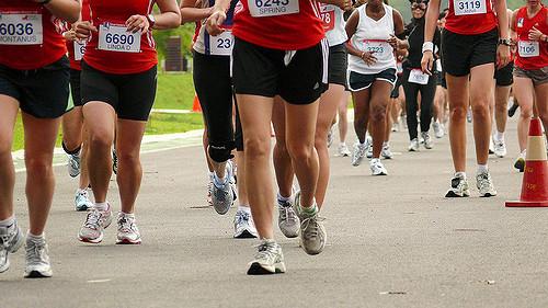 1 running