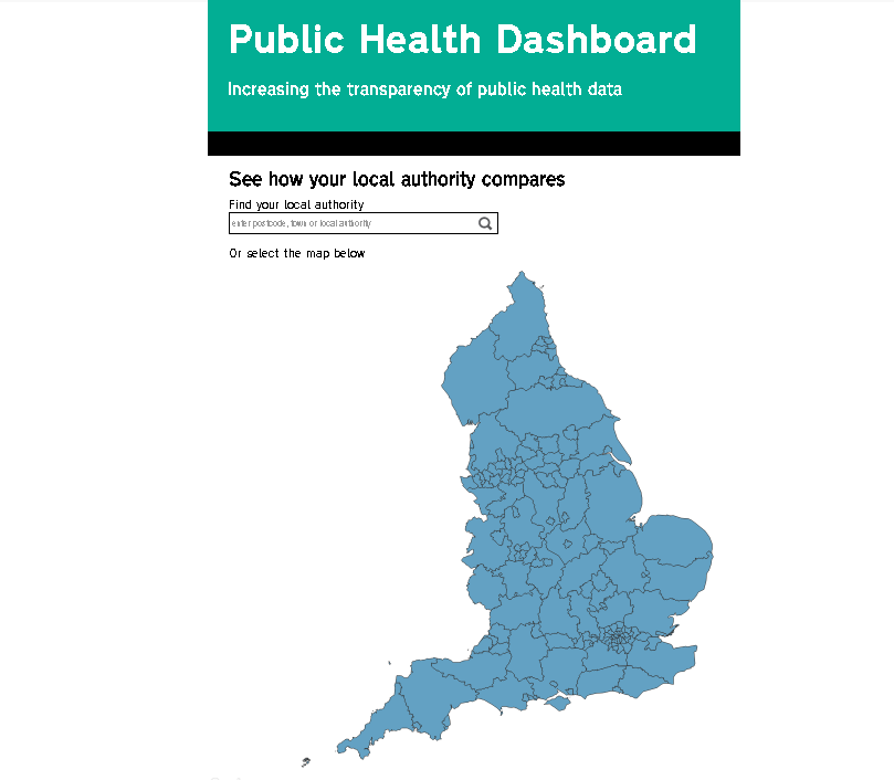 Introducing a new local authority public health dashboard