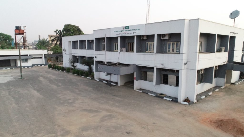 Image showing white building at the Nigeria Centre for Disease Control in Abuja