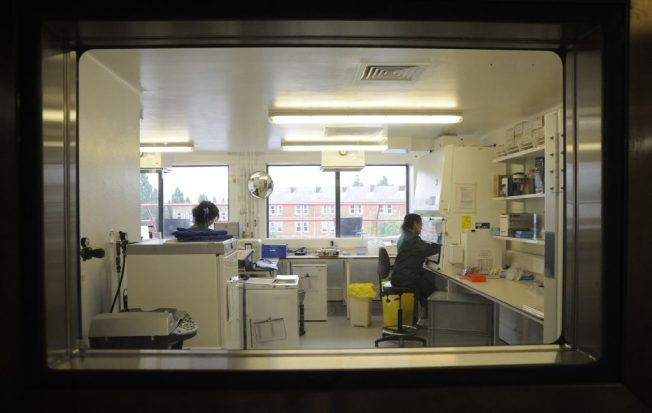PHE Colindale lab
